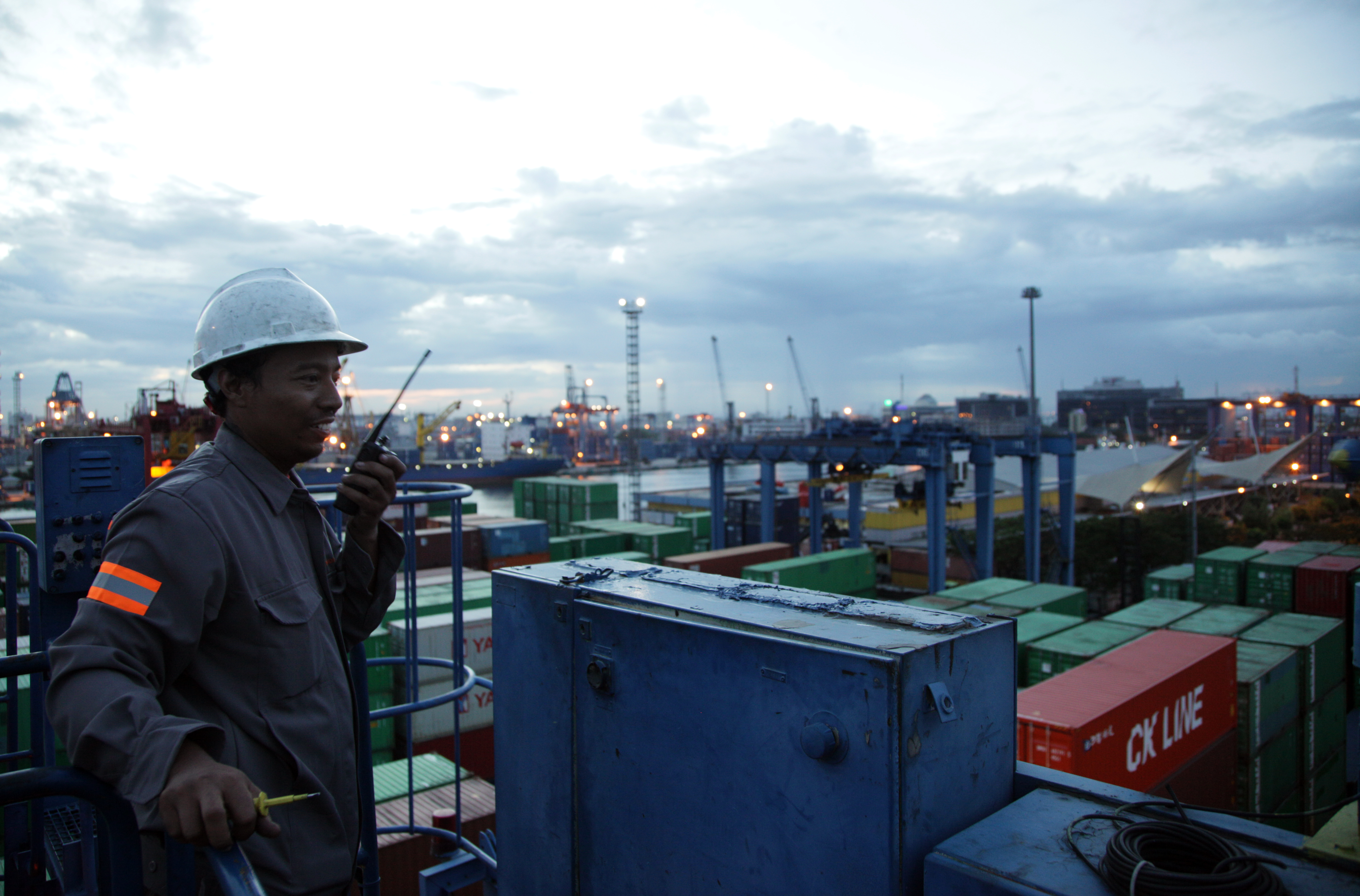 sejarah nusantara port